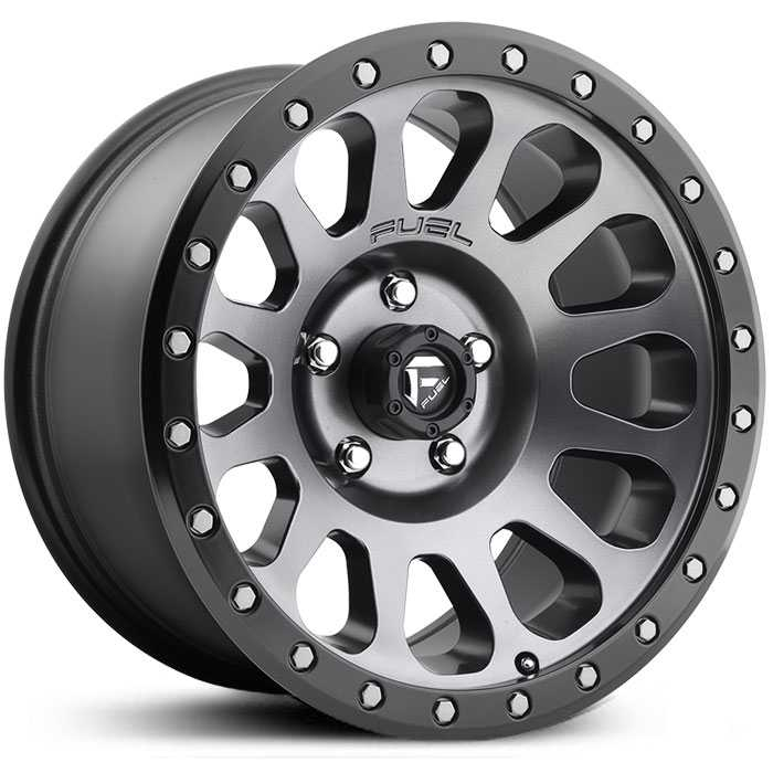 Fuel D601 Vector Silver/Grey/Gunmetal