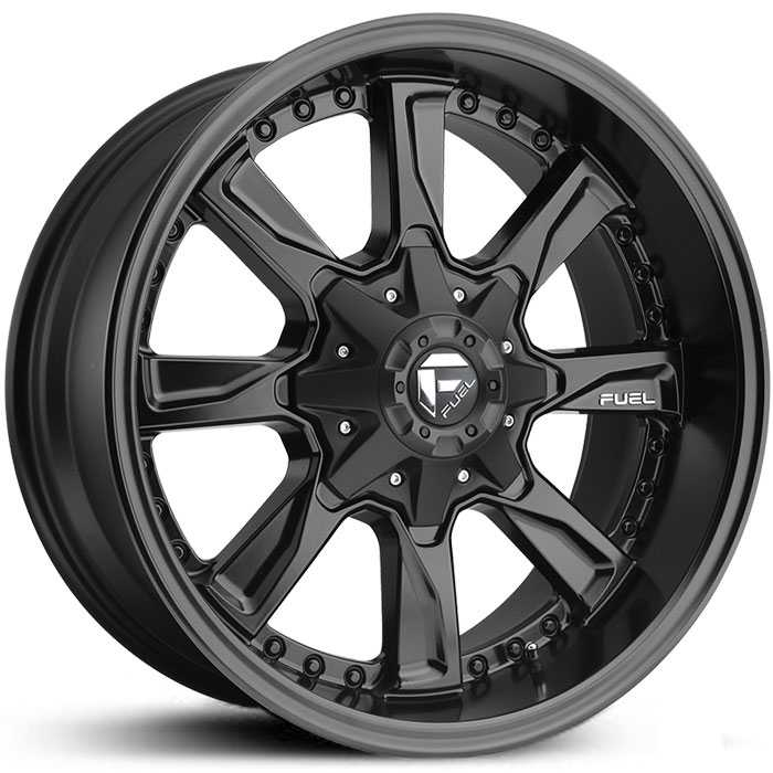 Fuel D604 Hydro  Wheels Matte Black