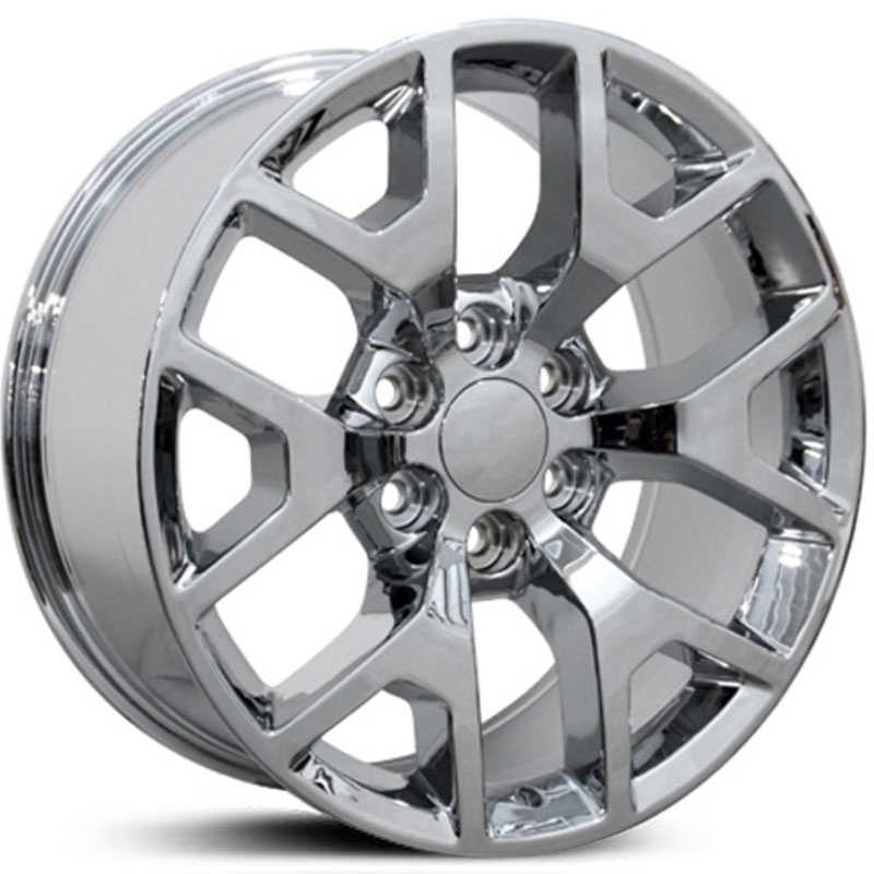 GMC Sierra 1500 Style (CV92)  Wheels Chrome