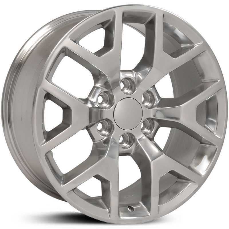 GMC Sierra 1500 Style (CV92)  Wheels Polished
