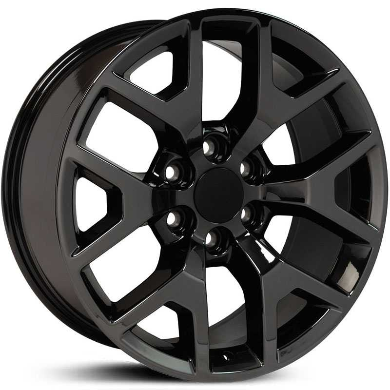 GMC CV92  Wheels Black