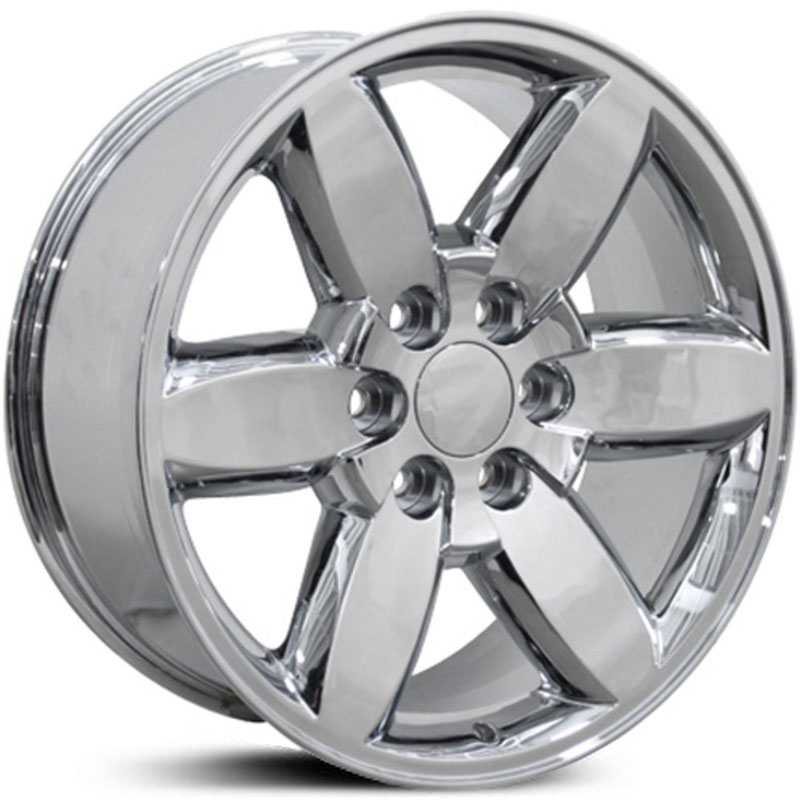 GMC Yukon Style (CV94)  Wheels Chrome