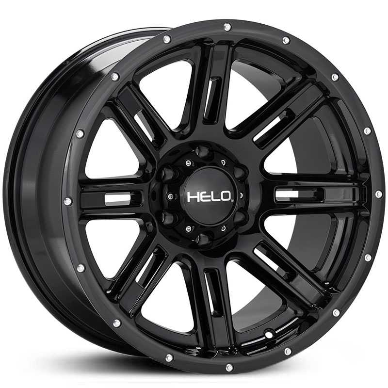 Helo HE900  Wheels Gloss Black