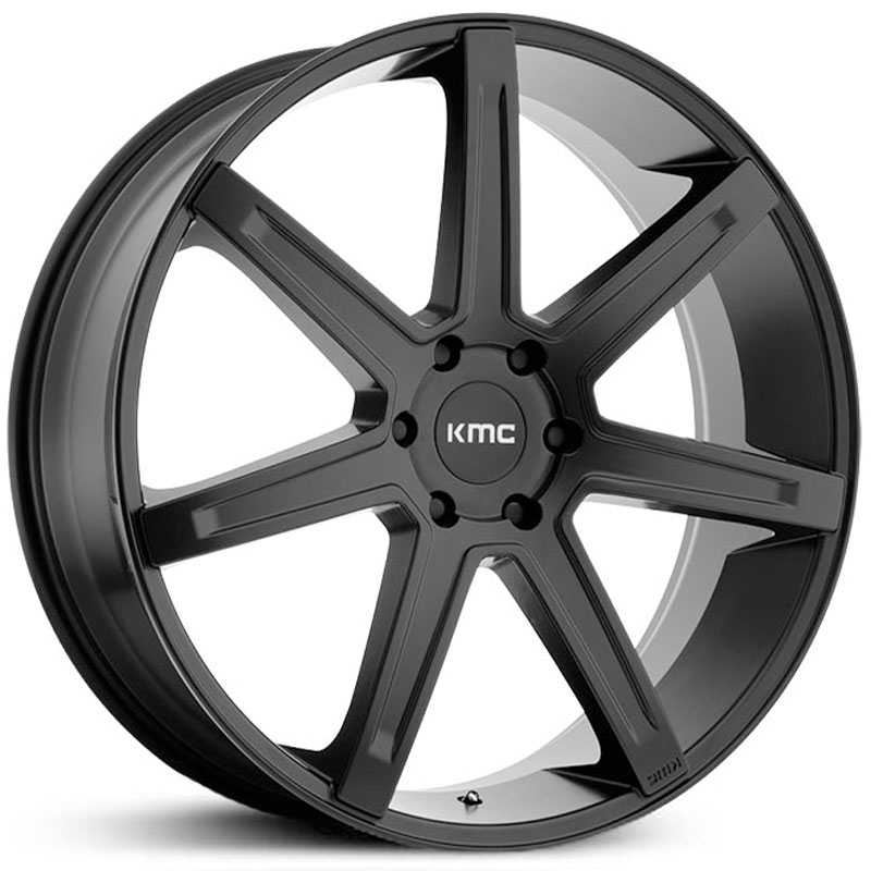 KMC KM700  Wheels Satin Black