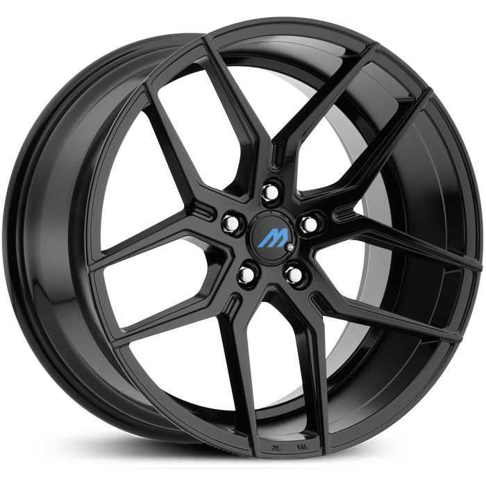 Mach ME4  Wheels Gloss Black