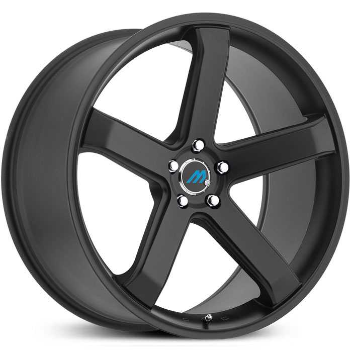 Mach ME5  Wheels Satin Black