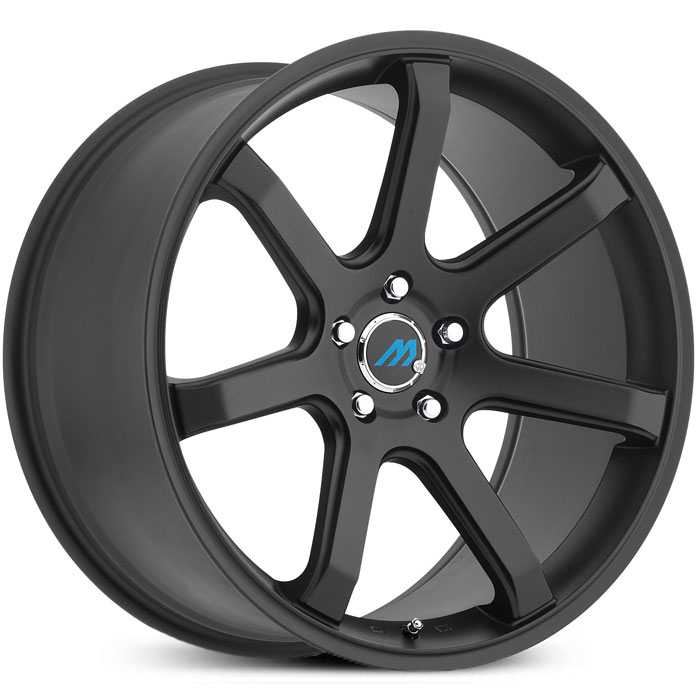 Mach ME7  Wheels Satin Black