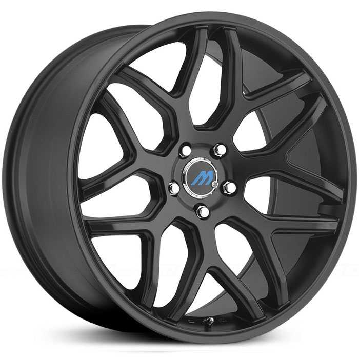 Mach ME8  Wheels Satin Black