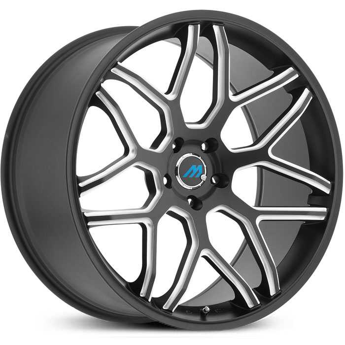 Mach ME8  Wheels Satin Black Milled