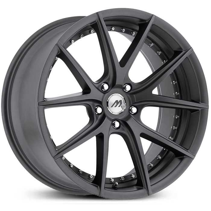 Track Series MT15 Gunmetal Gray