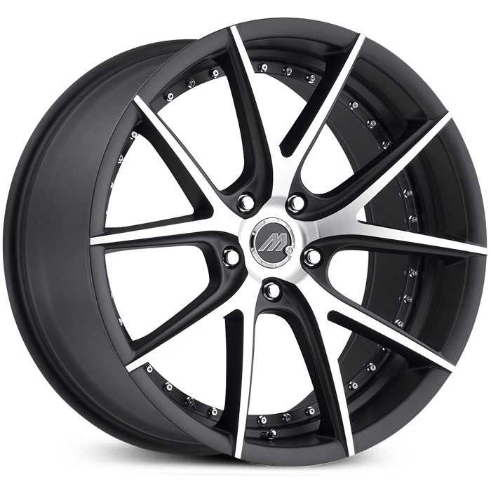 Track Series MT15 Satin Black Machined