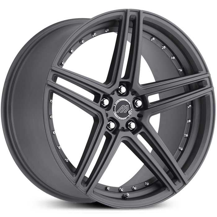 Mach Track Series MT2  Wheels Gunmetal Gray