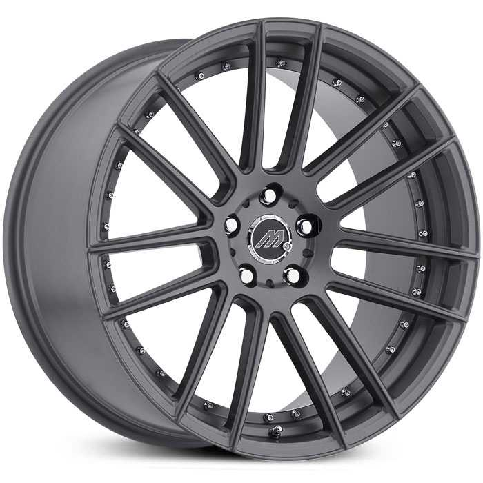 Track Series MT7 Gunmetal Gray