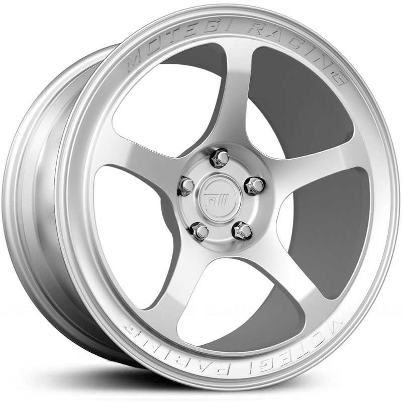 22x8.5 Motegi MR102 Custom Forged Polished RWD
