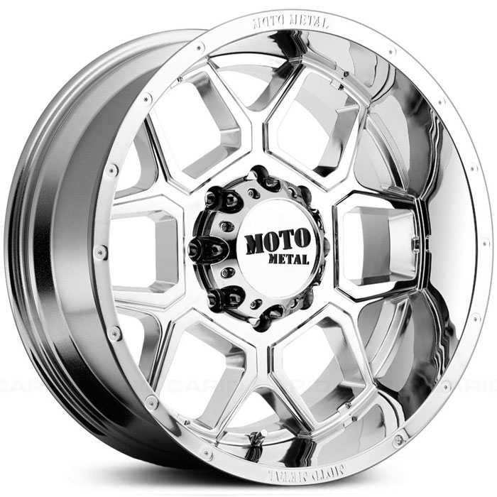 Moto Metal MO981 Spade  Wheels Chrome