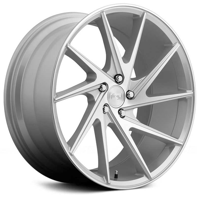 Niche M162 Invert  Wheels Silver & Machined