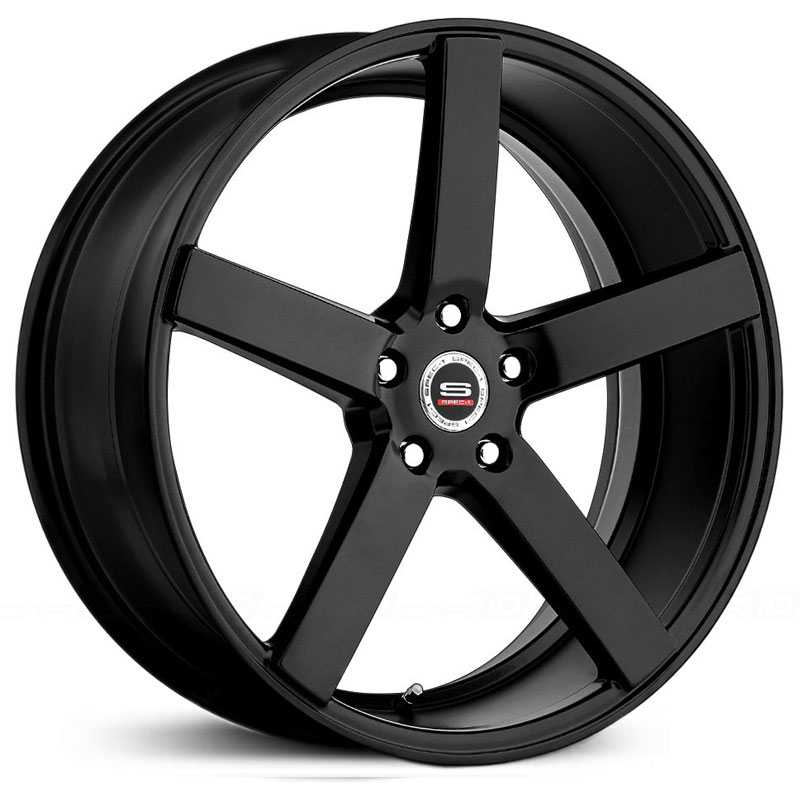 18x8 Spec-1 SP-36 Matte Black HPO
