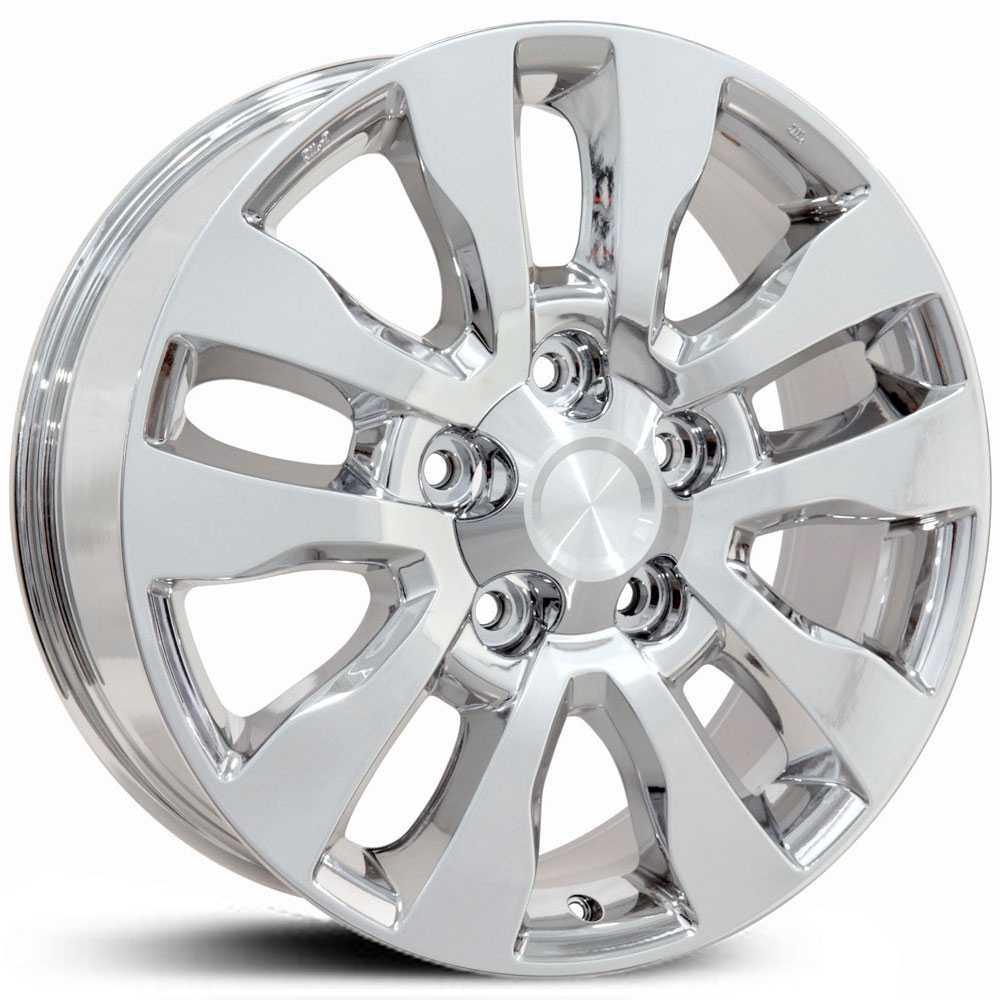 toyota tundra (ty11) wheels chrome
