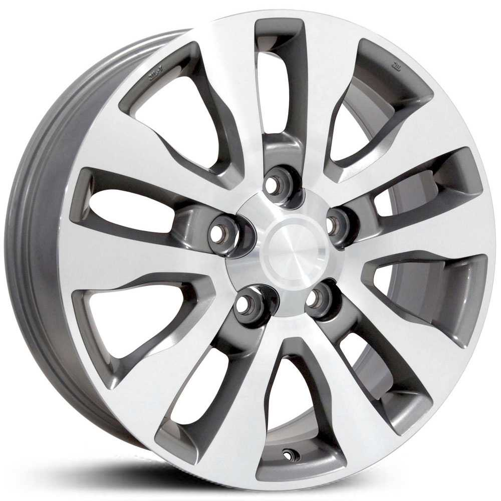 Toyota Tundra (TY11)  Wheels Silver Machined