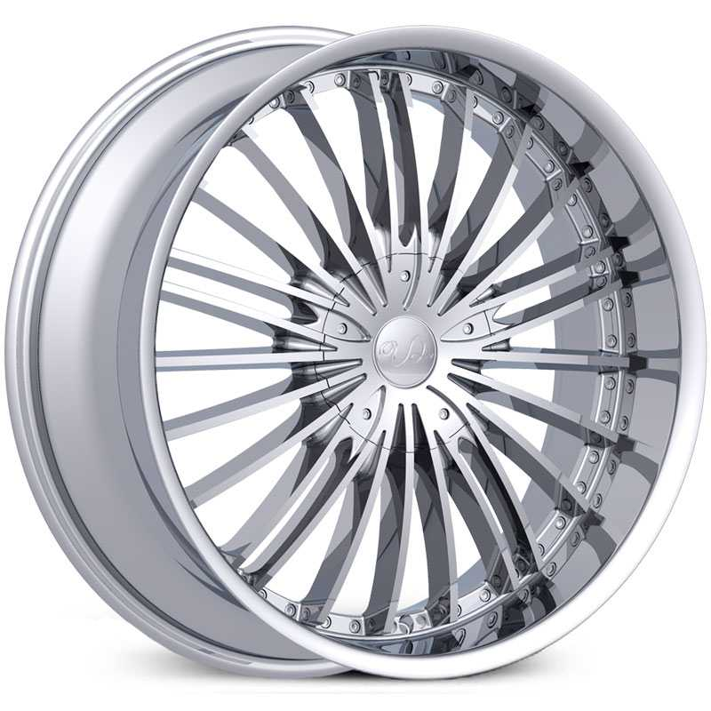 U2 10  Wheels Chrome