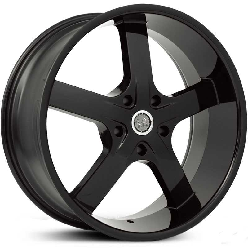 U2 55S-A  Wheels Black