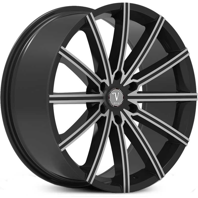 Velocity VW-23B Black Milled