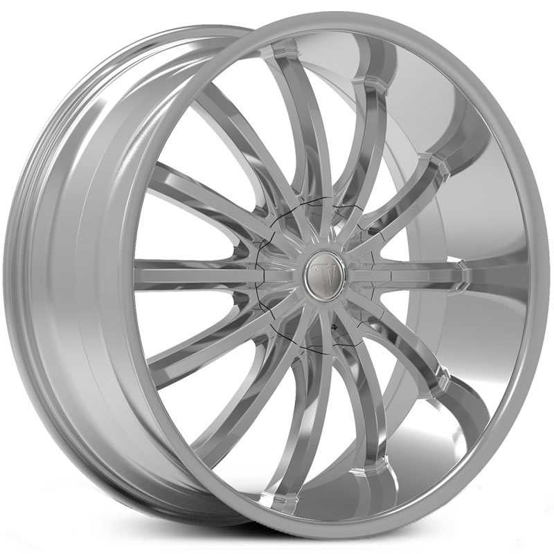 Velocity VW-24  Wheels Chrome