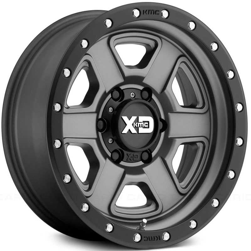 XD133 Fusion Off-Road Satin Gray w/ Black Lip