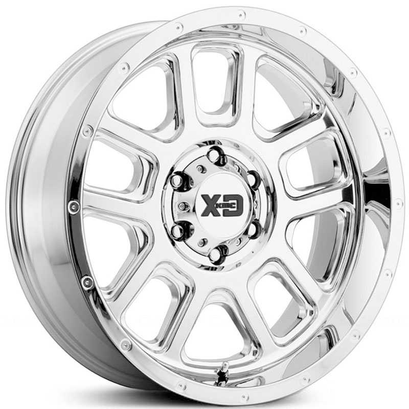 XD Series XD828 Delta Chrome