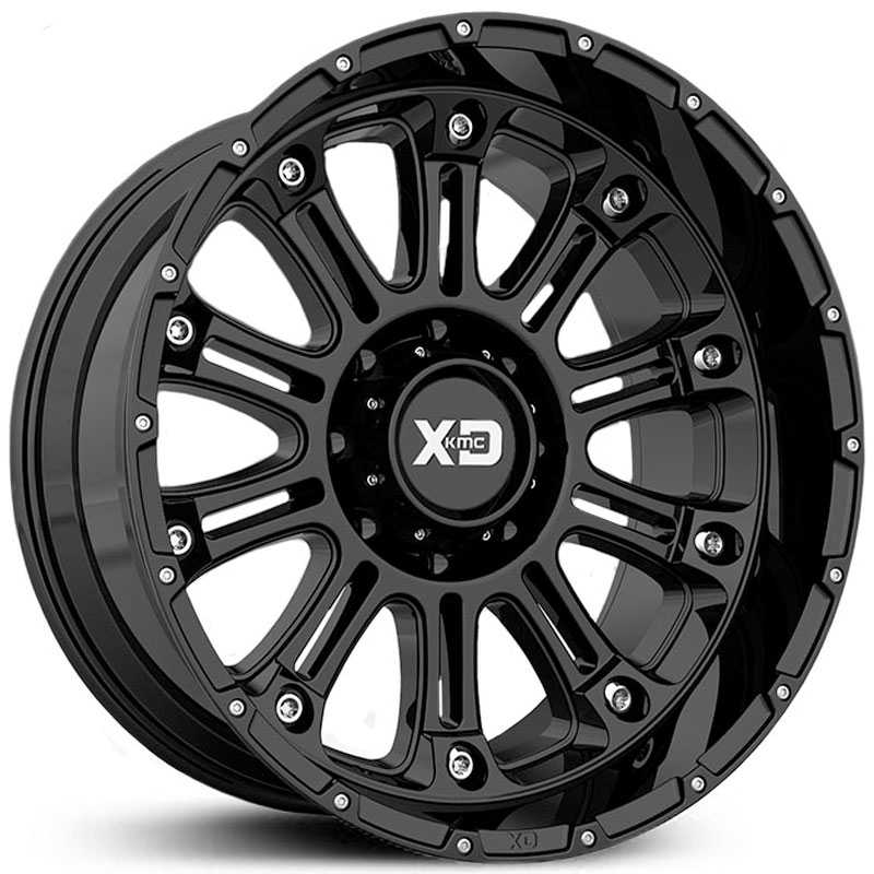 XD Series XD829 Hoss 2  Wheels Gloss Black