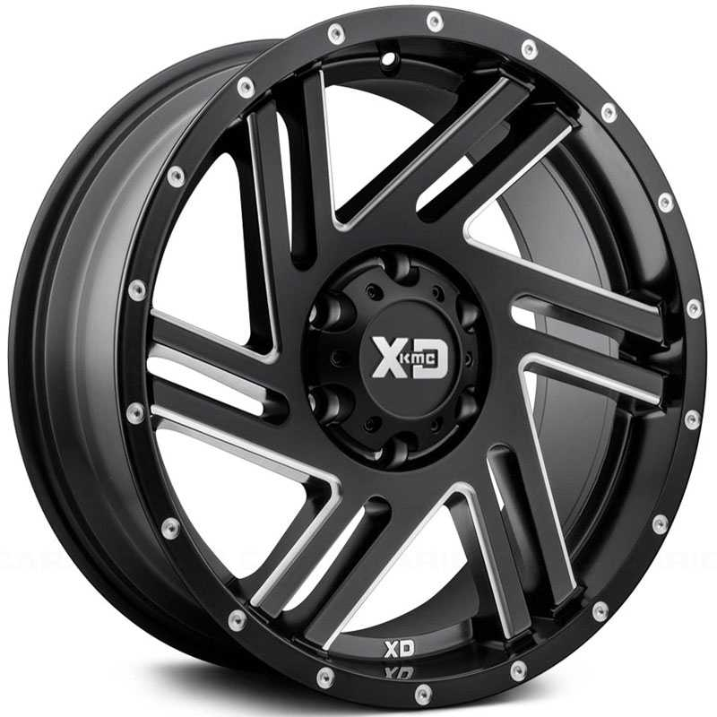 XD Series XD835 Swipe Satin Black Milled
