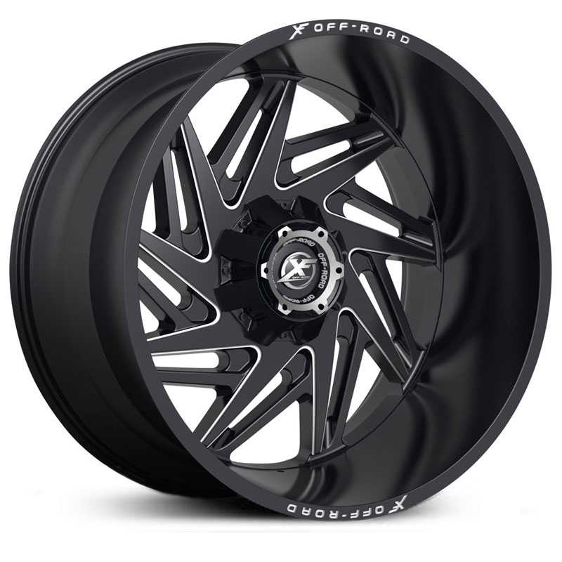 XF Offroad XF-203  Wheels Black Milled