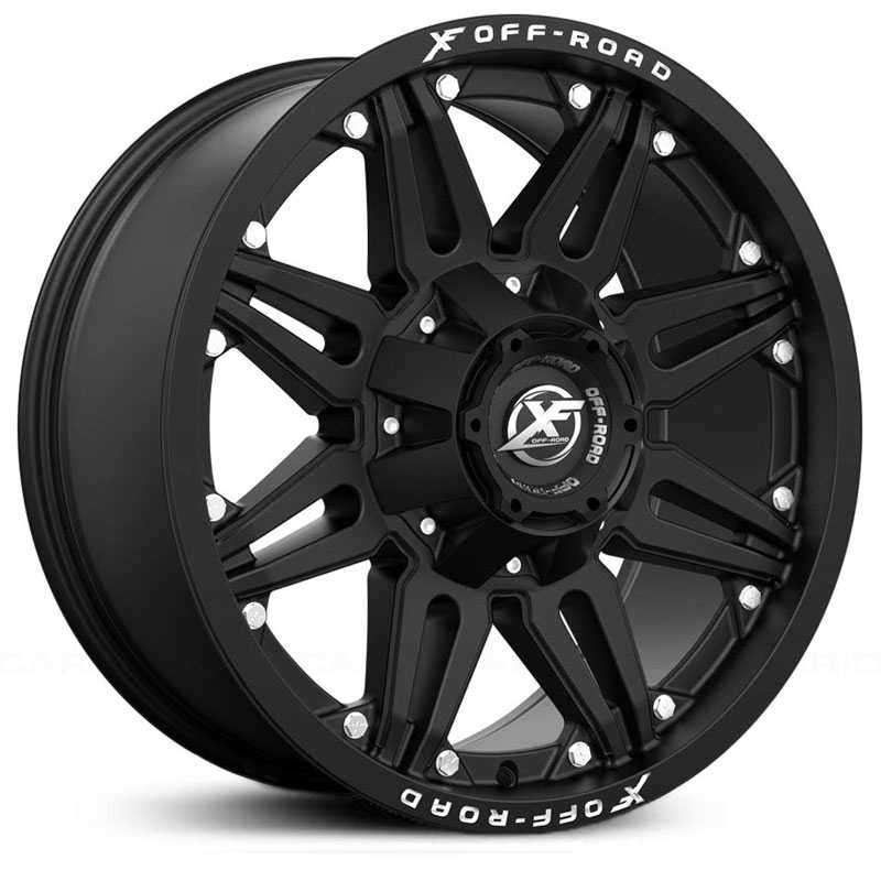 XF Offroad XF-204  Wheels Matte Black