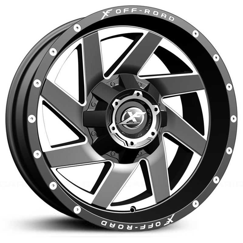 XF Offroad XF-205  Wheels Black Milled