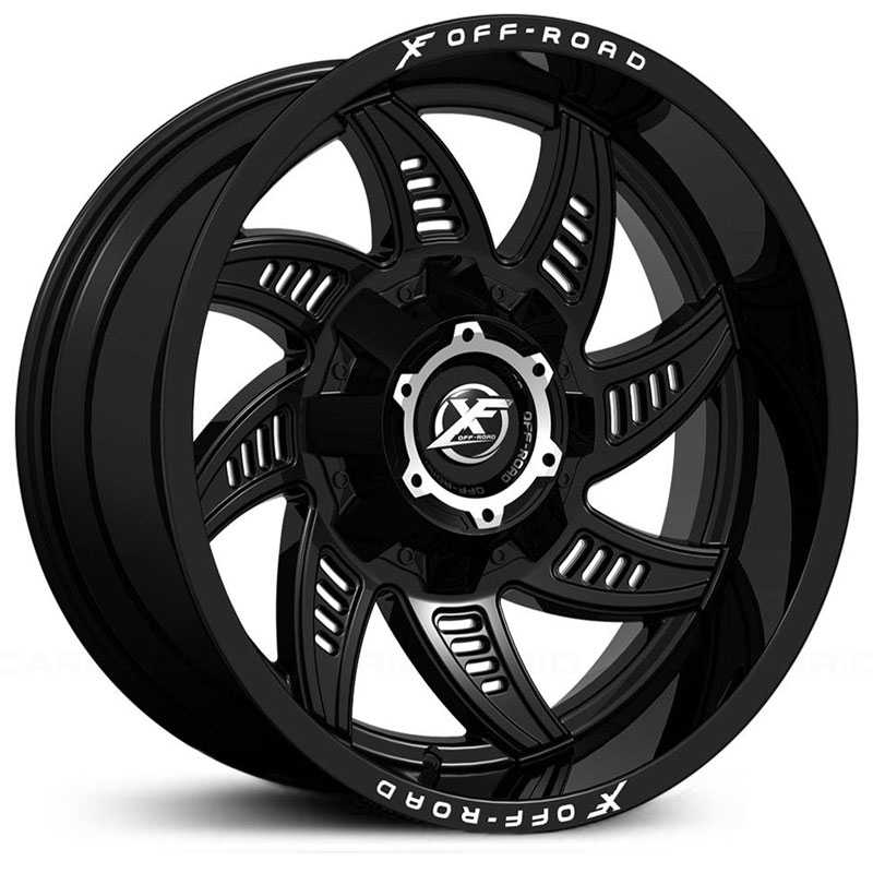 XF Offroad XF-206  Wheels Matte Black