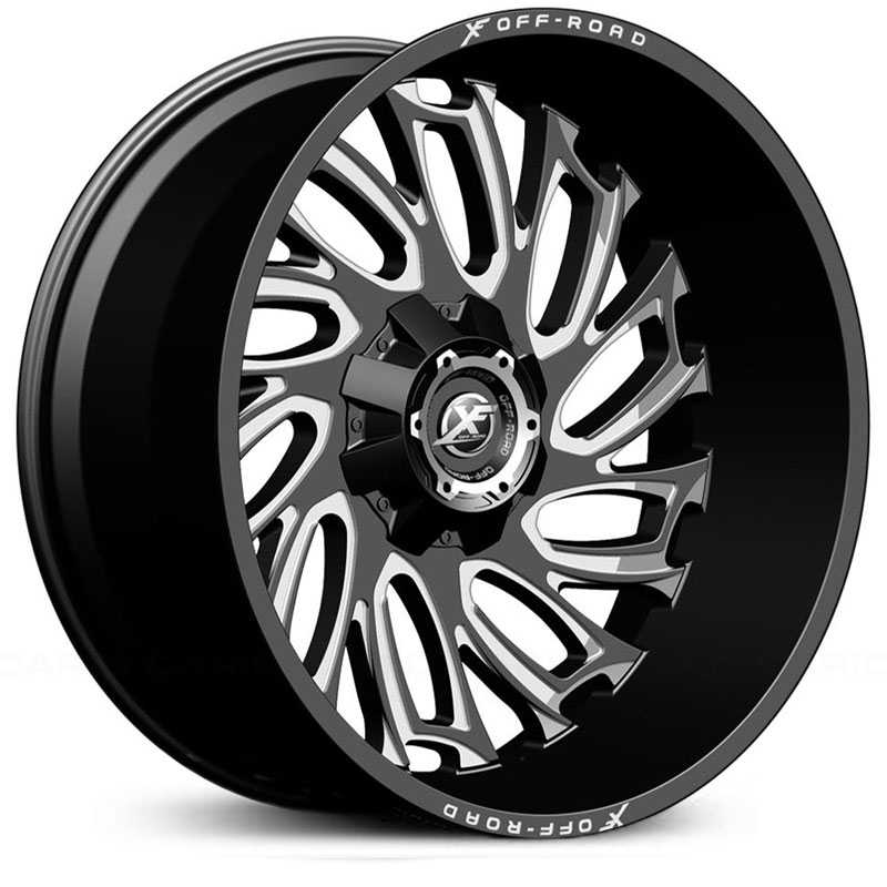 XF Offroad XF-207  Wheels Black Milled
