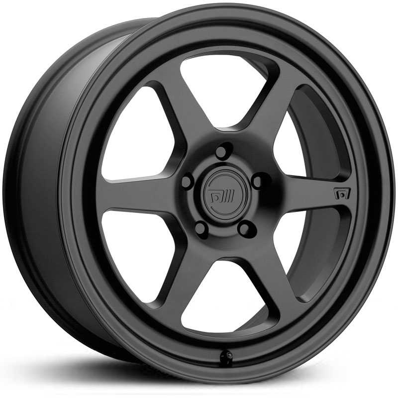 18x9.5 Motegi MR136 Satin Black MID