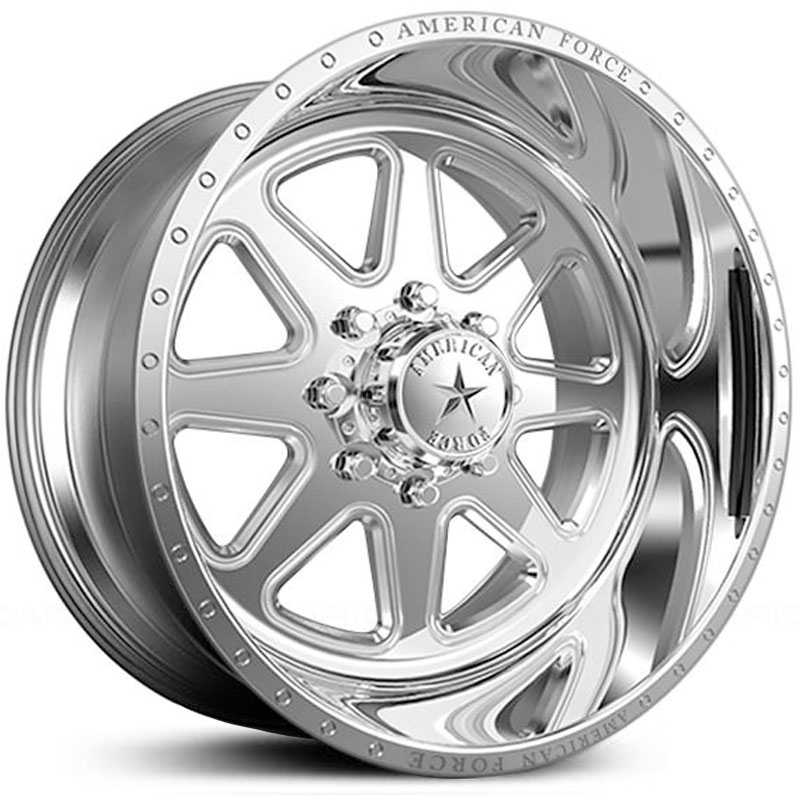 American Force Range SS8  Wheels Mirror Finish Polish