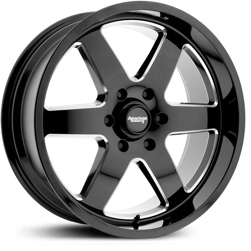 American Racing AR926  Wheels Gloss Black Milled