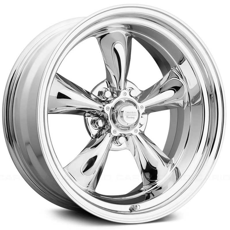 17x9.5 American Racing Vintage Torq Thrust II VN615 Chrome HPO