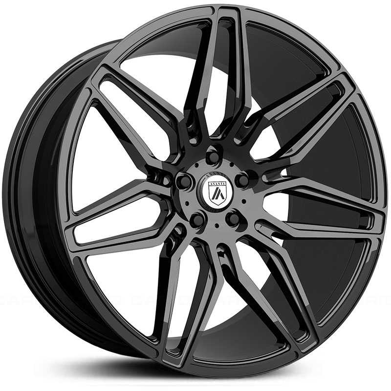 Asanti Black Label ABL-11  Wheels Gloss Black