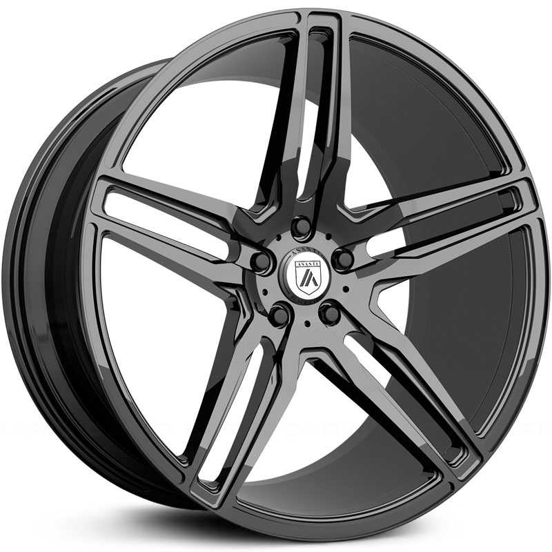 Asanti Black Label ABL-12  Wheels Gloss Black