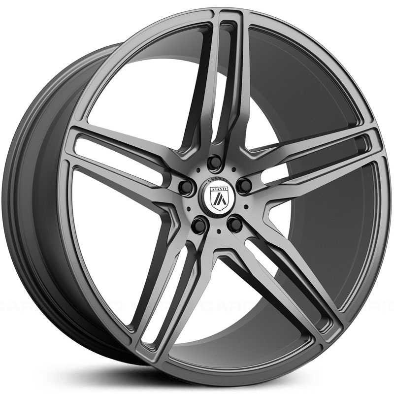 Asanti Black Label ABL-12  Wheels Matte Graphite
