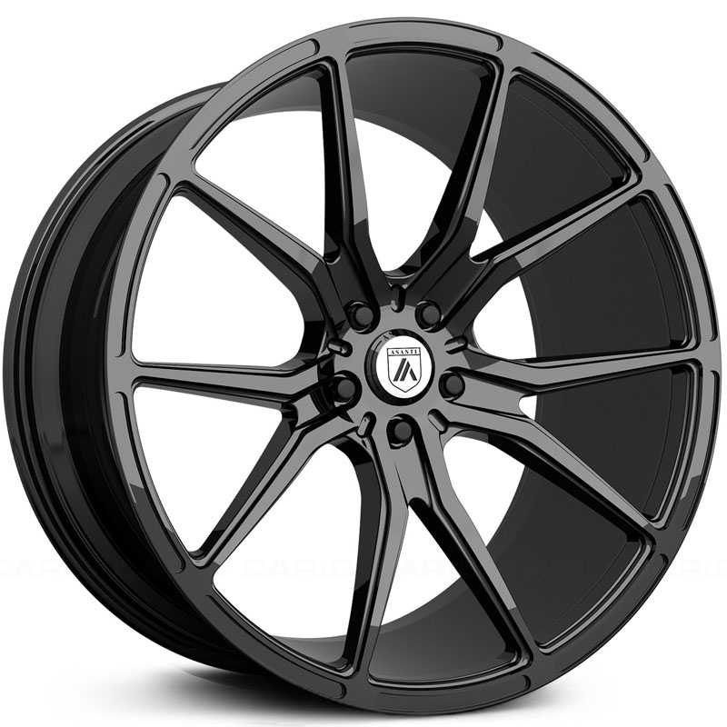 Asanti Black Label ABL-13  Wheels Gloss Black