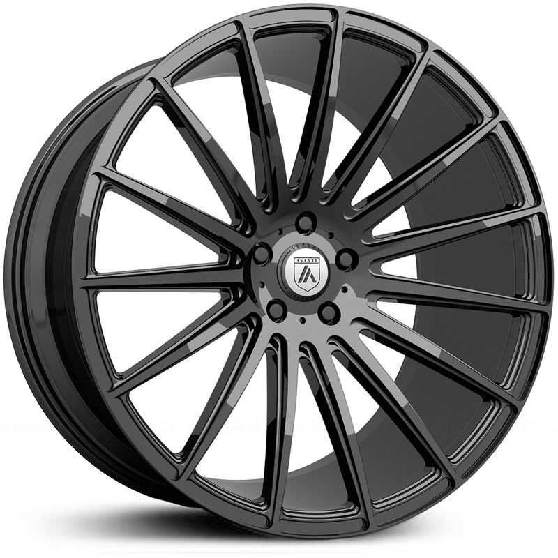 Asanti Black Label ABL-14  Wheels Gloss Black