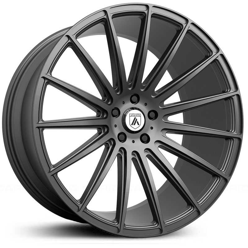 Asanti Black Label ABL-14  Wheels Matte Graphite