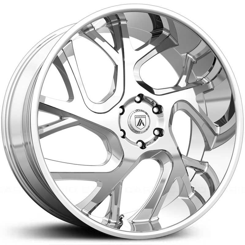 Asanti Black Label ABL-16  Wheels Chrome