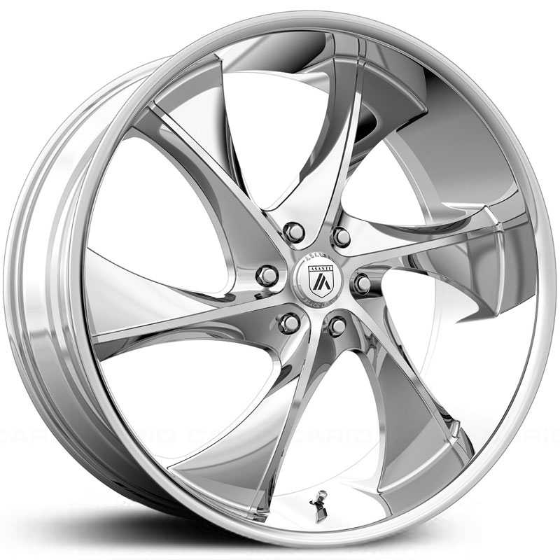 Asanti Black Label ABL-17  Wheels Chrome