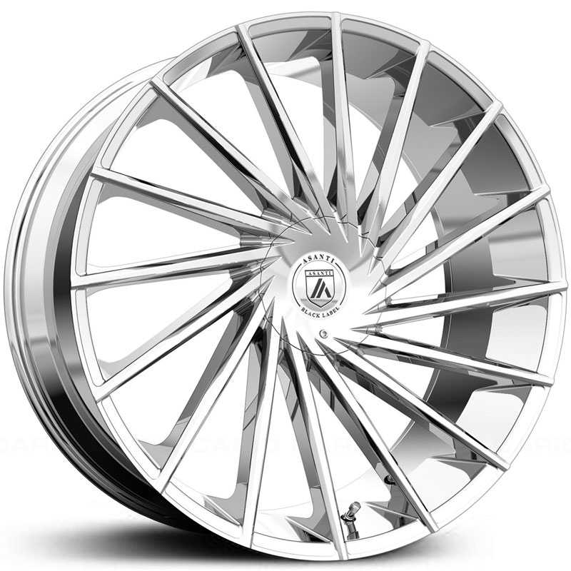 Asanti Black Label ABL-18  Wheels Chrome