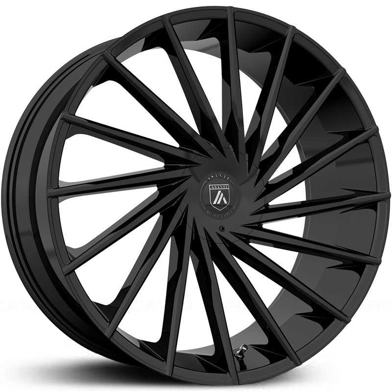 Asanti Black Label ABL-18  Wheels Gloss Black